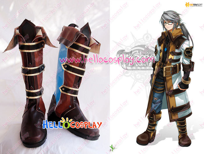 product Free Shipping Tartaros OL Cosplay Cromodo Boots Tailor-Made