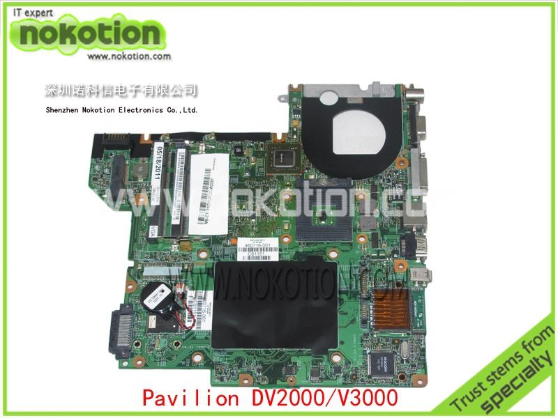 Здесь можно купить  460716-001 Laptop Motherboard for HP Compaq pavilion dv2000 V3000 G86-631-A2 update graphics Mainboard full tested  Компьютер & сеть