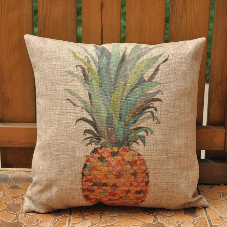 Pineapple cushions home decor almofadas decorativas for Decor pillows