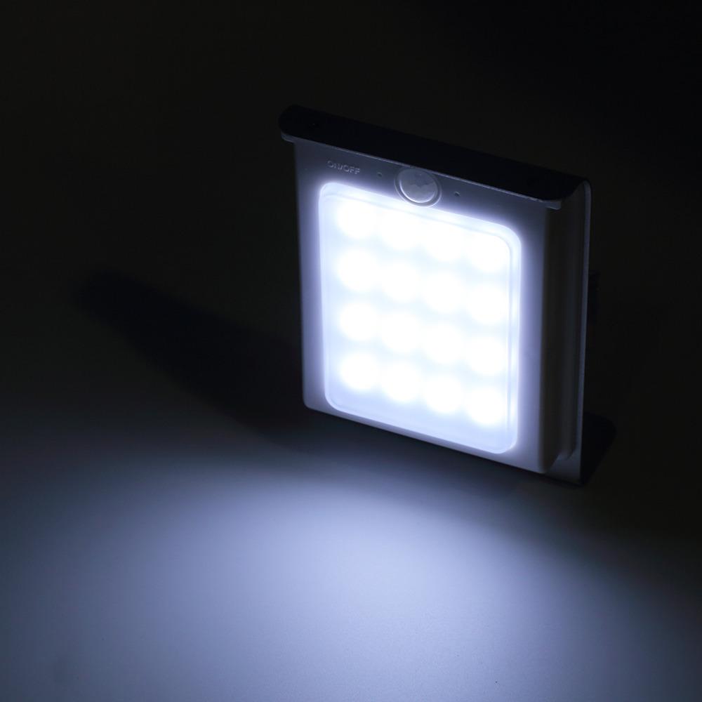 New Generation 16 LED Solar Power Energy Bright Human Body Motion Sensor Induced Garden Security Lamp Outdoor LightHOT HOT(China (Mainland))