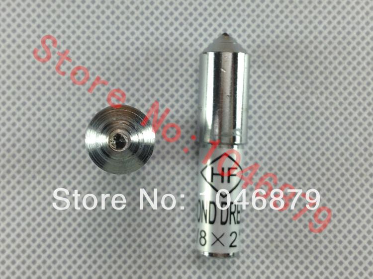 10mm Dia 50mm Length Grinding Wheel Diamond Dressing Pen Dresser Tool Head for the natural diamond