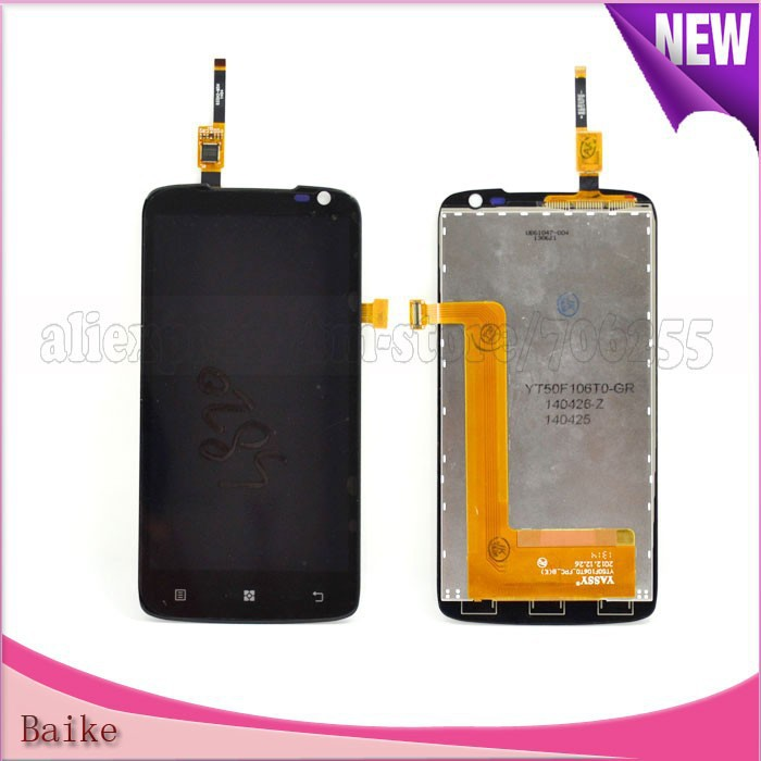 For Lenovo S820 lcd screen with digitizer touch screen panel assembly 100% Guarantee original Free shipping<br><br>Aliexpress