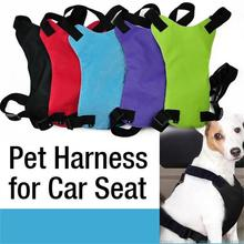 Free shipping Safety Pet Seat Belt For Car Harness Dog Leash Safety Seat Belt Collar Supplies Products Dog Stuff Pads 3 Sizes