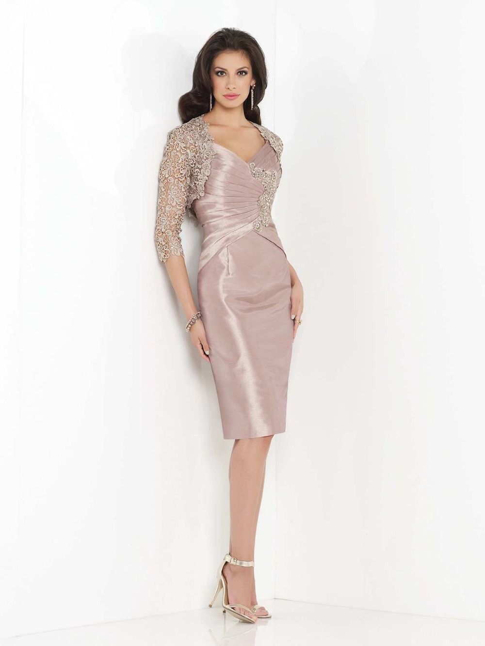 plus size mother of the bride dresses pink