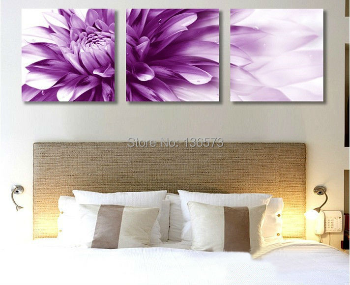 hand painted 3 piece flowers decorative oil paintings. Black Bedroom Furniture Sets. Home Design Ideas