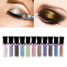 11 Color Single Loose Eye Shadow Most Glamorous Pigment Matte Shimmer Shade Metallic Shadow Glitter Powder M01535(China (Mainland))