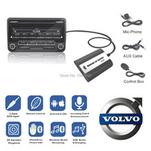 Buy Volvo HU-series C70 S40/60/80 V70 XC70 Interface Bluetooth Handsfree USB AUX Car MP3 Adapte CD change for $48.84 in AliExpress store