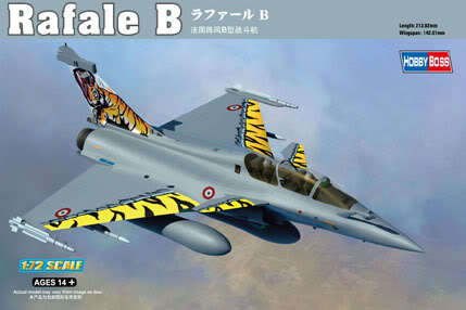 Hobby Boss 1/72 87245 Rafale B Plastic Model Kit HobbyBoss Free Shipping(China (Mainland))