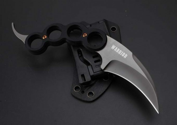 Buy Small Tactical Knife.Karambit Hunting Fixed Knives,9Cr18Mov Blade G10 Handle Camping Survival Knife, cheap