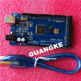 5sets/lot MEGA 2560 R3 !! ATmega2560 AVR USB board +free cable (ATMEGA2560 ) Arduino - GUANGKE ELECTRONICS CO.,LIMITED store