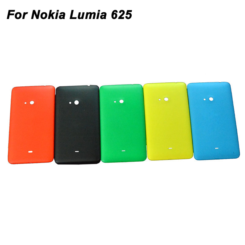 Replacement For Nokia Lumia 625 Battery Door Back Cover Housing Top Quality Phone Case Black/White/Yellow/Green/Orange Color(China (Mainland))