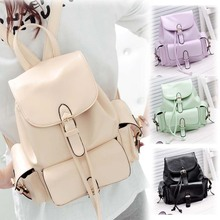 HOT 2013 CANDY COLOR STUDENT SCHOOL BAG WOMEN'S BACKPACK  BG-0101(China (Mainland))