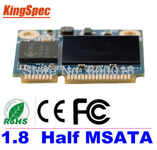Kingspec Half mSATA ssd 128GB SATA3 III 6GB/S ssd 120gb msata For Tablet PC hard disk For Samsung Signal PC For Intel Signal PC(China (Mainland))