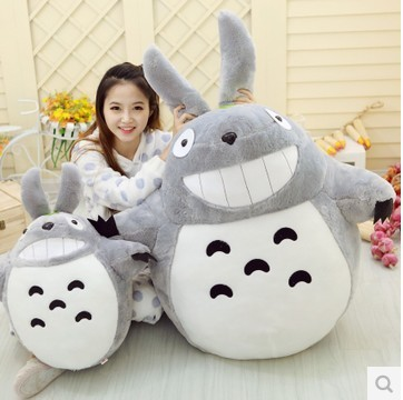 Hot! 20cm Selling Item Totoro Cartoon Movies Plush Toys Smiling High Quality Dolls Factory Price Free Shipping(China (Mainland))