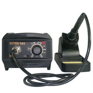 Здесь можно купить  Free shipping] ATTEN AT980 anti-static temperature lead-free soldering station iron thermostat soldering station 80W High  Аппаратные средства