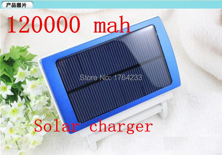 120000 MAH Large capacity five outdoor mobile solar power source General solar charging treasure outing travel #30(China (Mainland))