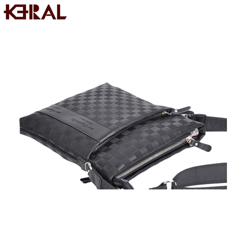 KERAL famous brand luxury design men bag casual business pu leather Briefcases bag vintage fashion man office bag male bag(China (Mainland))
