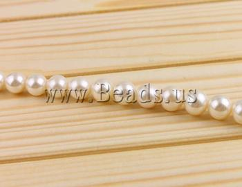 Free shipping!!!Round Cultured Freshwater Pearl Beads,Cheap Jewelry, natural, white, High Replica, 10-11mm, Hole:Approx 0.8mm