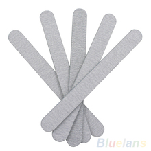 5PCS Nail Art Sanding Buffer Files For Salon Manicure UV Gel Tips Pedicure Tool 2MC9