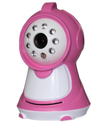 "2.4GHz FM Wireless 3.5"" Two-way intercom data encryption Night Vision Camera Digital Video audio baby Safety monitor P2(China (Mainland))"