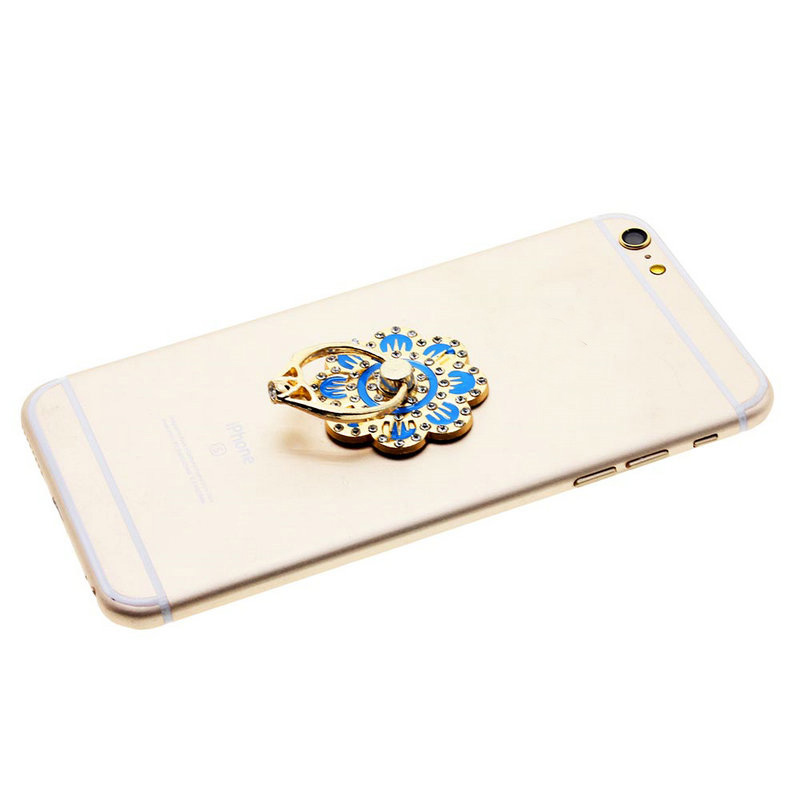 2016 New Luxury Flower Shape Cell Phone Ring Holder Mobile Phone Smart Phone Finger Holder Stand for iPhone for Samsung for LG(China (Mainland))