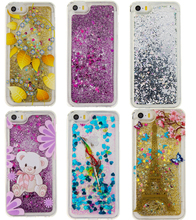 Buy Hot!For iphone 5s 5 se Bling Colorful Dynamic Liquid Glitter Sand Quicksand Star soft Back Cover Clear Case iphone case for $2.69 in AliExpress store
