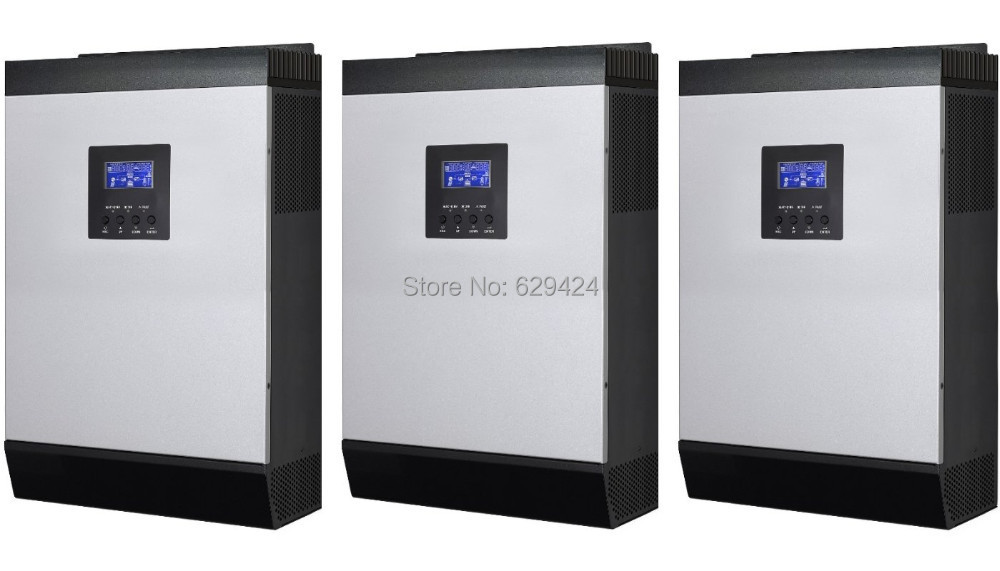 12kw off grid solar inverter charger 48V 230v AC output with 60A MPPT solar charger battery charger 60A solar power inverter(Taiwan)