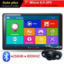 "7"" Auto Car GPS Navigation Bluetooth AVIN with rear view camera 256MB/8GB vehicle navigator Europe navigator gps automo"