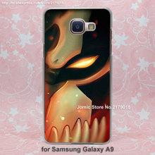 Japanese Anime red Bleach Ulquiorra design transparent clear hard Cover Case Samsung Galaxy a3 a5 a7 a8 a9 - Jomic store