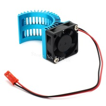 Brushless Motor Heatsink + Fan Cooling 550 540 Size RS540 Heat Sink Cover Electric Engine For RC model Car HSP 7014(China (Mainland))