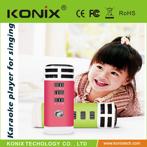 Portable mini karaoke playe for free singing(China (Mainland))