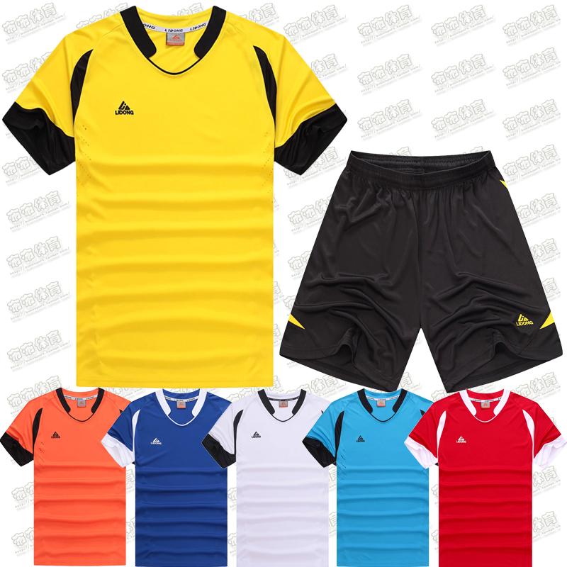 2016 New Arrival Soccer Jersey Set Youth Kids Football Kits boys child Futbol Training Suit Blank Breathable Short Sleeve Sets(China (Mainland))
