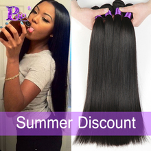 7A Brazilian Virgin Hair Straight 4pcs/lot Virgin Straight Hair Queen Hair Products Virgin Brazilian Straight Hair Extensions(China (Mainland))