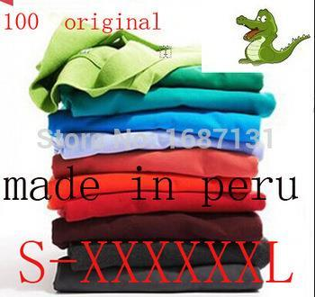 NEW 2014 men crocodile logo t shirt(China (Mainland))