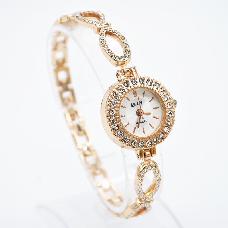 Hot alloy Rhinestone bow bracelet watch fashion elegant quartz Wrist Watch for Women students Girls WXMPJ786