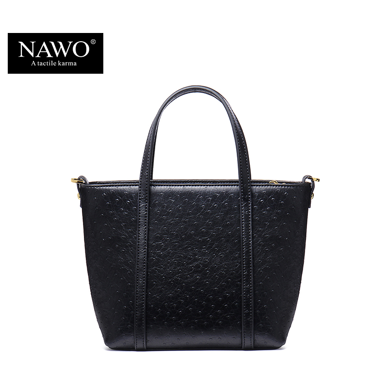 NAWO 2016 Summer Fashion Women's Shoulder Bag Famous Brand Designer Handbags High Quality Leather Crossbody Bag Black Fashion(China (Mainland))