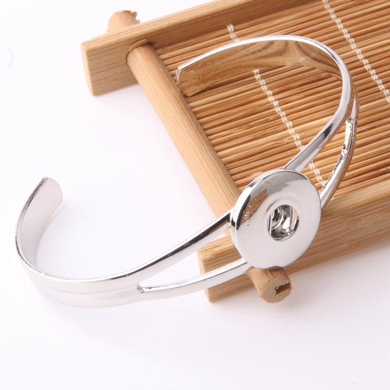 Wholesale 18mm snap button bracelets 10pcs/lot fit 18/20mm snaps buttons fit snaps buttons diy ks614