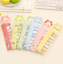 6X Kawaii Bow Cute Planner Sticker Decorative Notebook School Stationery Sticky Notes Notepad Post it Papelaria Filofax Papel(China (Mainland))