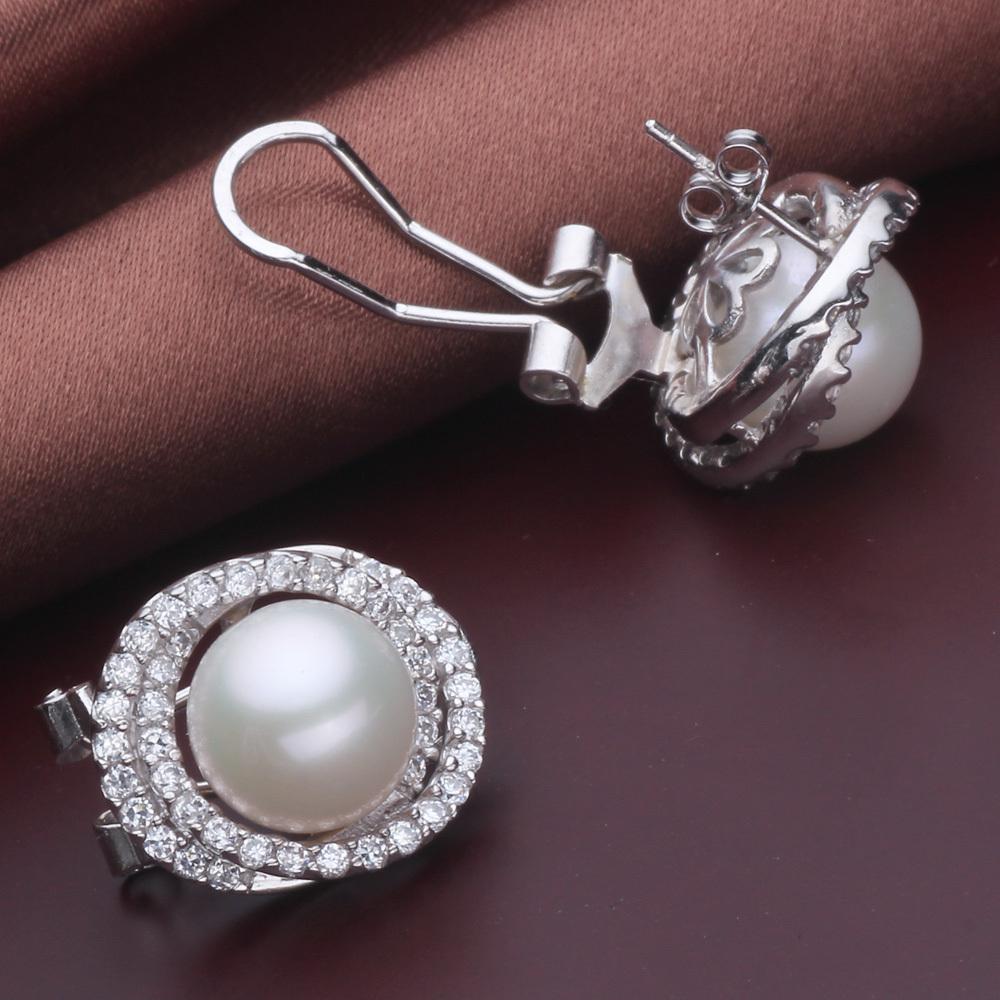 Lastest Home Earrings Pearl Earrings 7 5 Mm Pearl Drop Earrings For Women