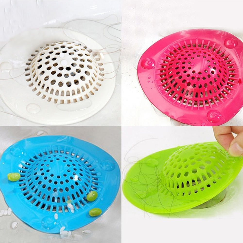 Bathroom Shower Drain Hair Catcher