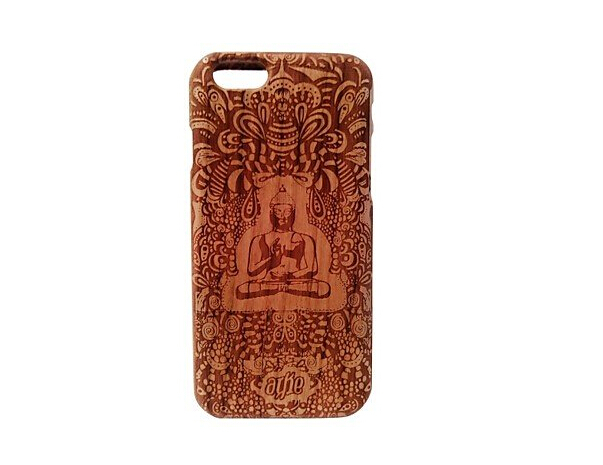 New for iPhone 6 Case Wooden Case A