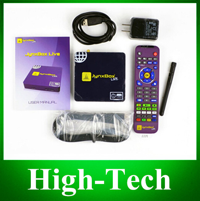 Jynxbox LIVE IPTV DHL Free Shipping to USA, Canada, Mexico with 305 channels watch free IPTV Live Sports Movie Adult Kids(China (Mainland))