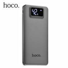 Buy Original HOCO Power bank 10000mAh LCD Dual USB Polymer External Battery Portable Charger Powerbank iphone 7 plus for $16.83 in AliExpress store