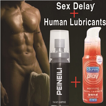 2 bottles suits, sex delay spray for men Durex lubricant human body impotence penile vaginal lubricants free shipping(Z9)(China (Mainland))