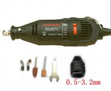220 V 125 W enchufe de la ue de Velocidad Variable Herramienta Rotatoria Dremel Mini taladro eléctrico accesorios y mandril Universal de envío libre
