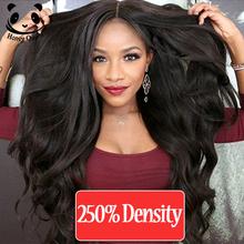 Glueless Lace Front Human Hair Wigs Peruvian Full Lace Human Hair Wig For Black Women 250% High Density Short Human Hair Wigs(China (Mainland))