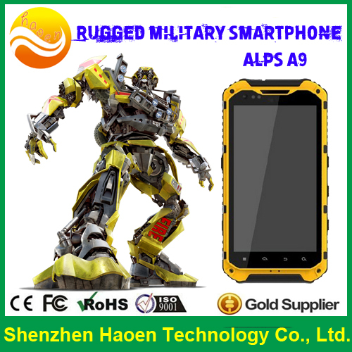Factory Direct Toughest IP68 Military Rugged Smart Cellular MTK6582 Outdoor Cell Phone with AGPS SOS Function Compass(China (Mainland))