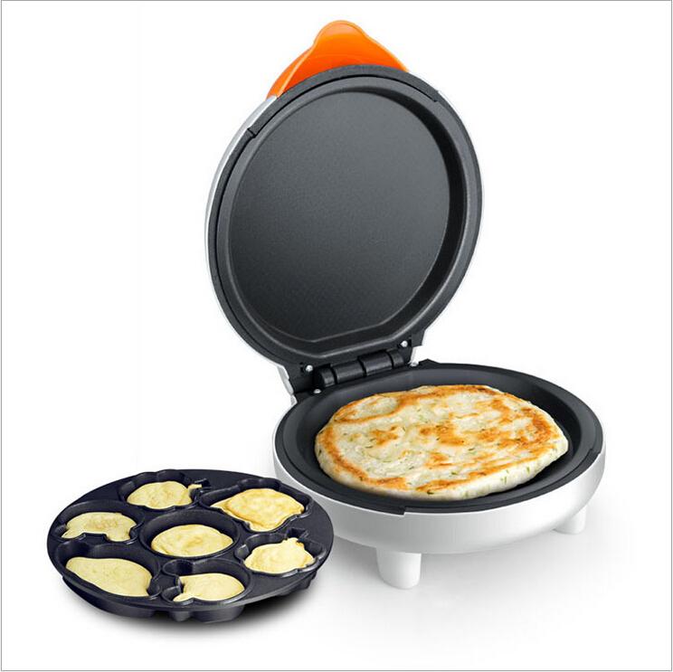 double sided baking pan cake home heating pizza pancake machine Mini ...