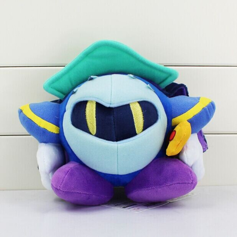Hot 5pcs/lot Kirby Meta Knight Stuffed Plush Doll Soft Toy With Tag Gift For Children 18cm(China (Mainland))