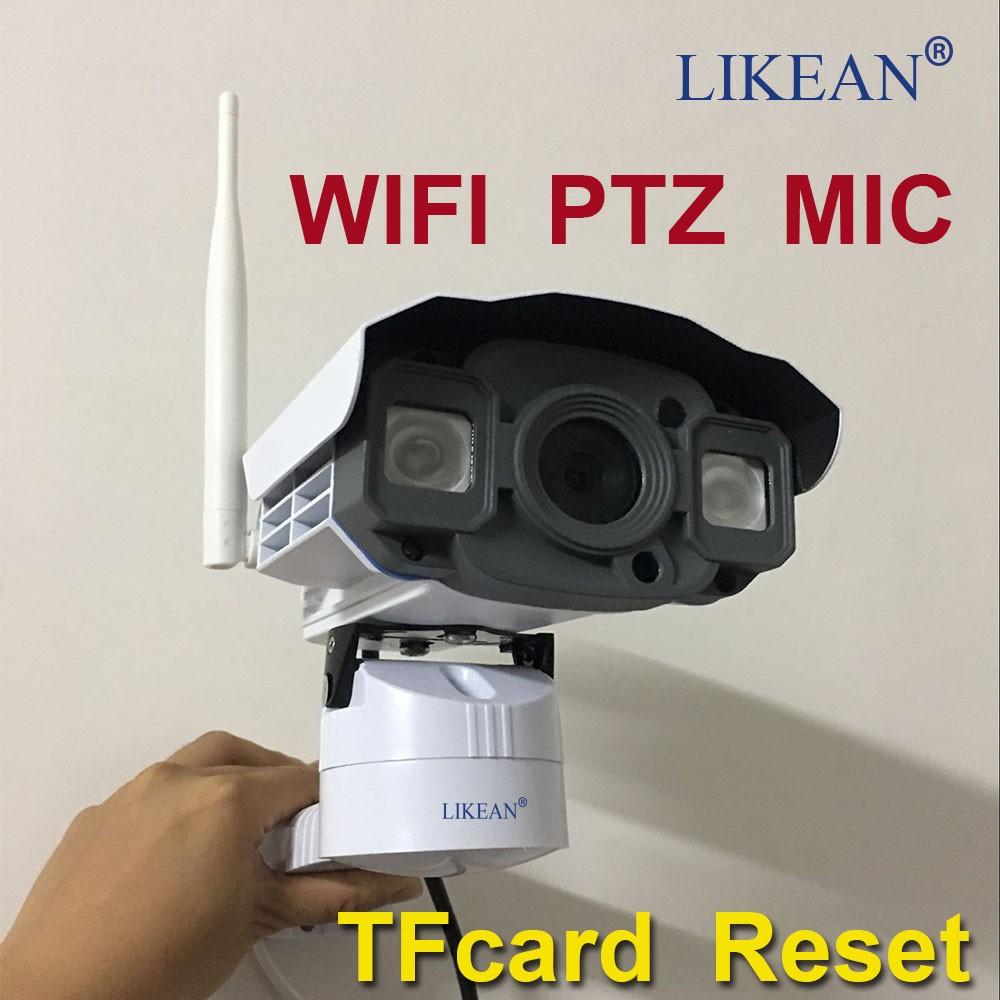 1920*1080 WIFI P2P 2.0MP Full HD MIC IP Camera 1080P Outdoor Waterproof IP66 PTZ Pan/Tilt Control Control TF slot Free Shipping(China (Mainland))